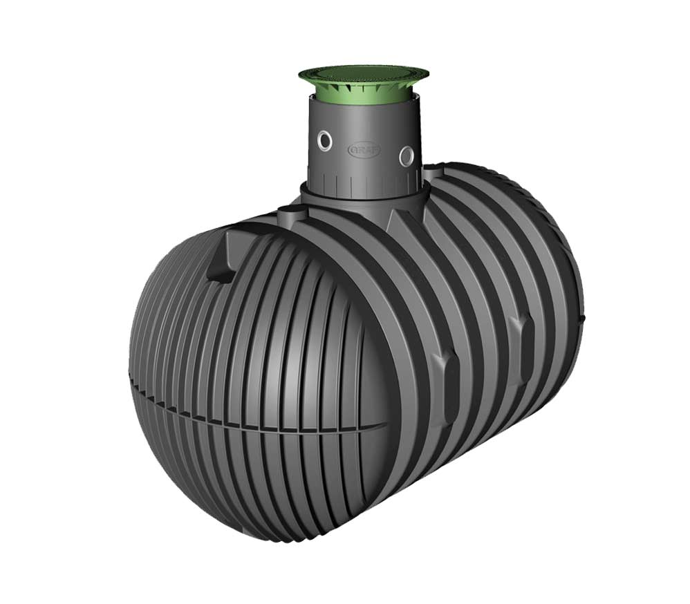 graf regenwassertank carat xl 8500l kl ranlagenprofi. Black Bedroom Furniture Sets. Home Design Ideas